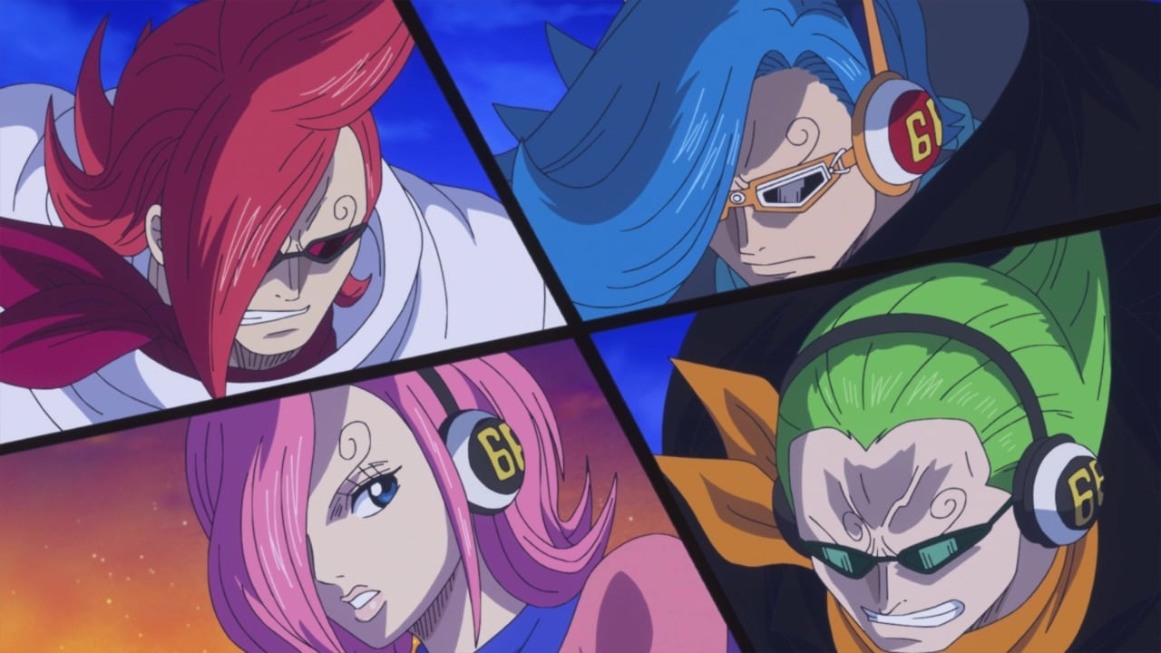 One Piece Season 19 :Episode 873  Pulling Back from the Brink! The Formidable Reinforcements – Germa!