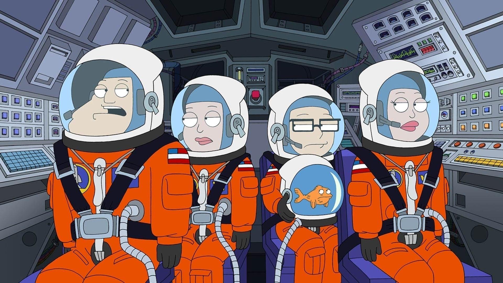 American Dad! Season 6 :Episode 18  Great Space Roaster
