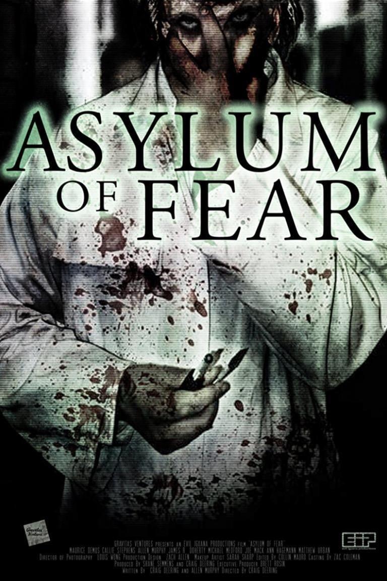 Póster Asylum of Fear