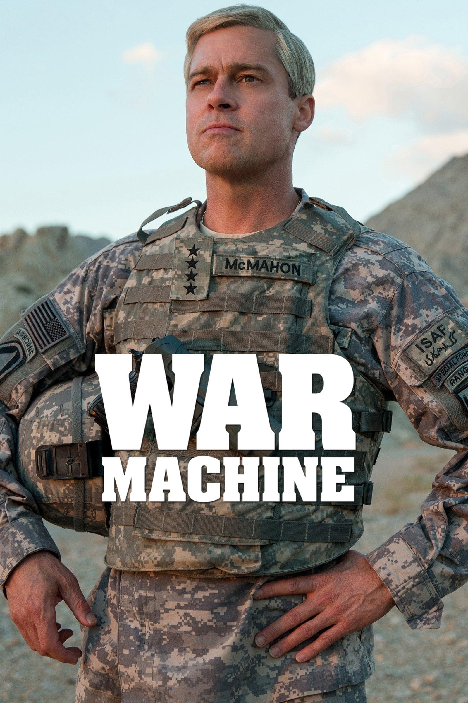 war machine netflix review