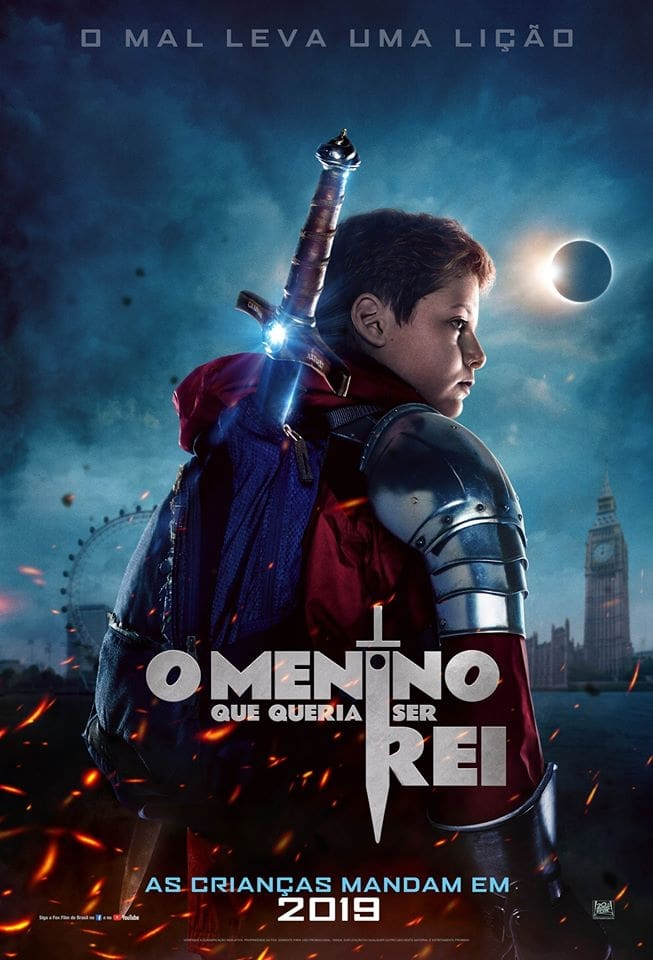 O Menino que Queria Ser Rei (2019) Torrent - BluRay 720p e 1080p Dublado / Dual Áudio 5.1 Download