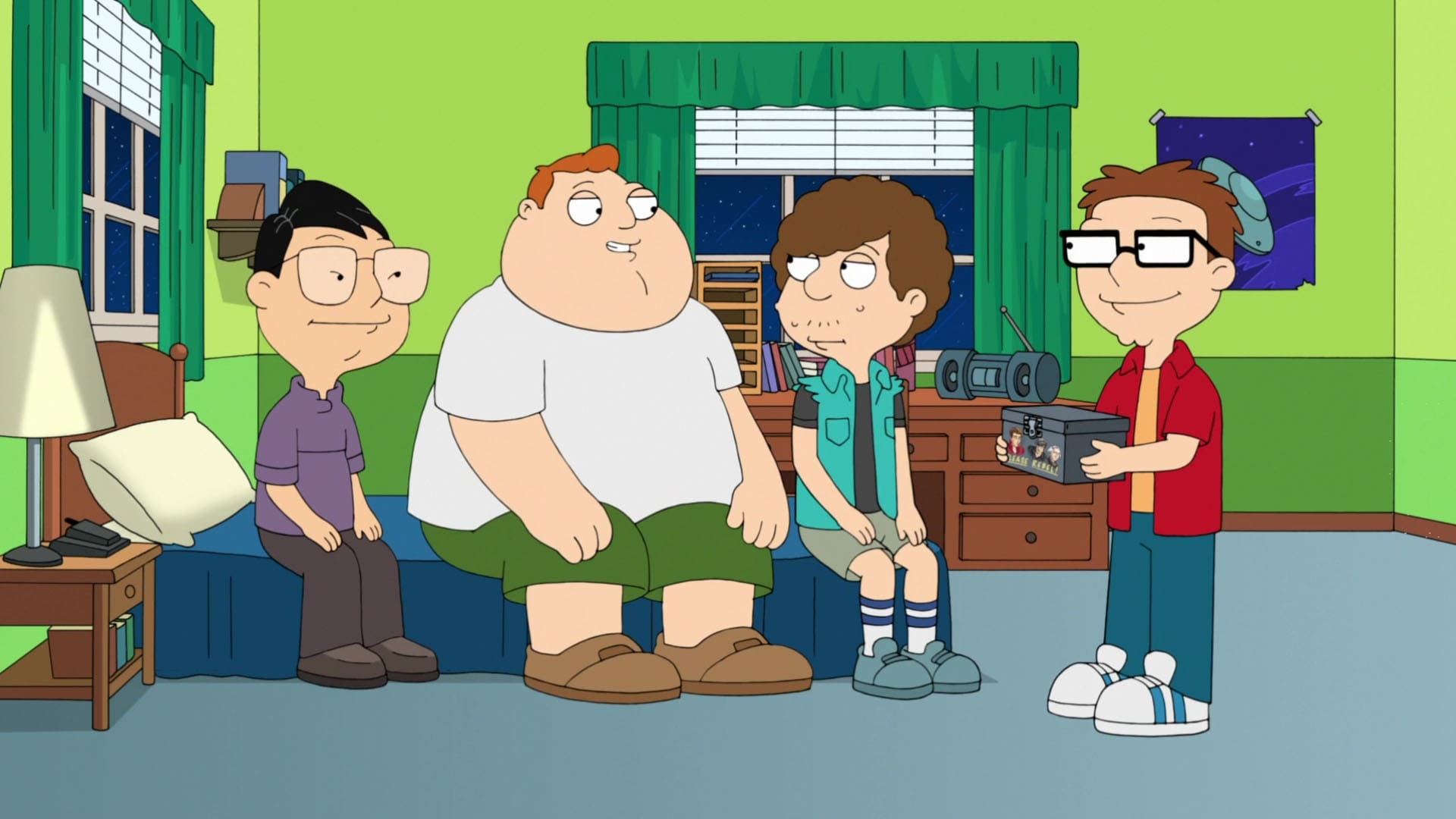 American Dad! Season 13 :Episode 11  The Unincludeds