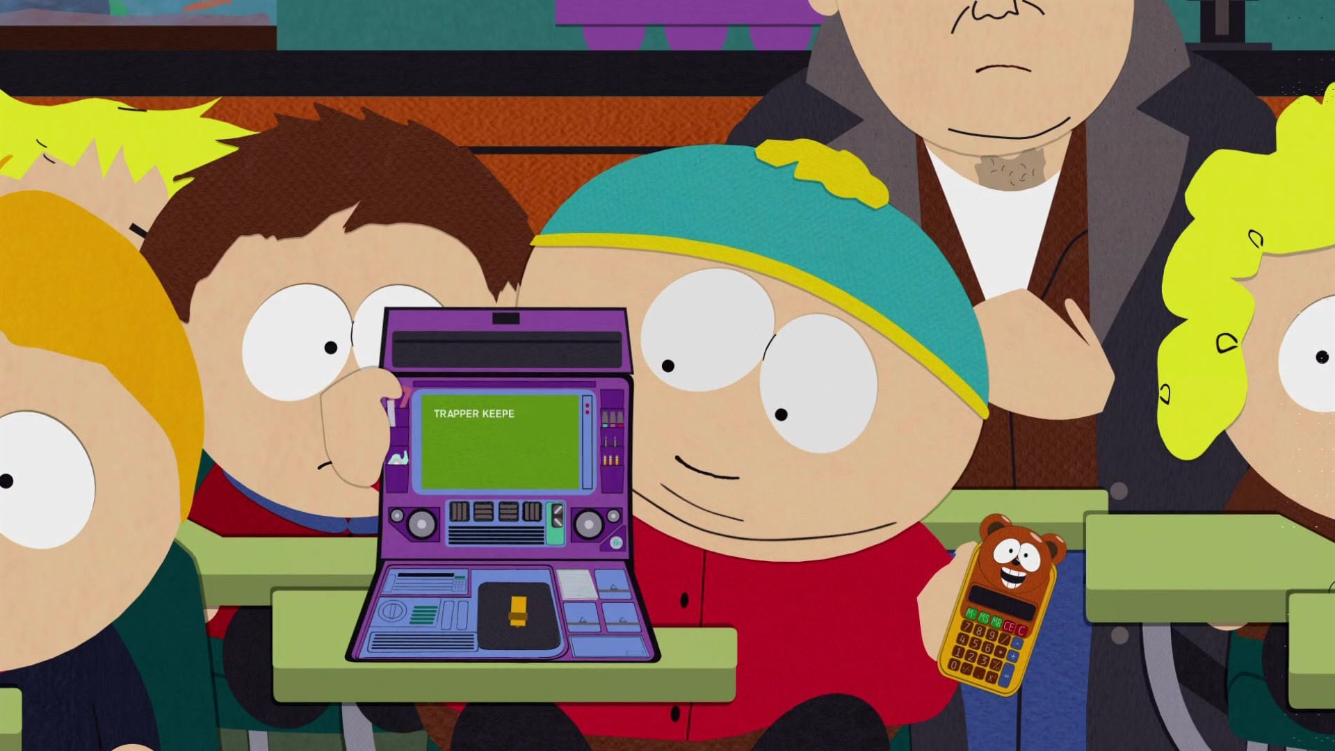 South Park Season 4 :Episode 12  Trapper Keeper