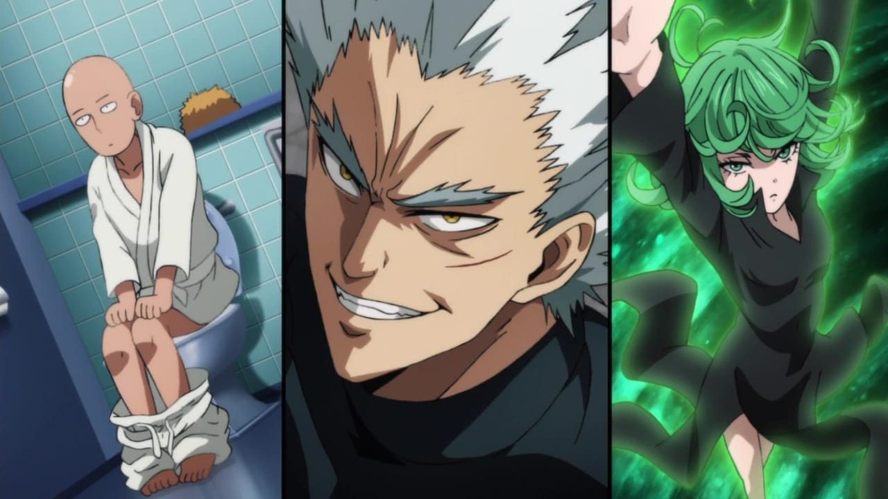 One-Punch Man Season 2 :Episode 6  The Uprising of the Monsters