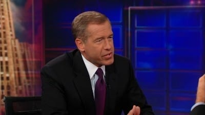 The Daily Show with Trevor Noah - Season 17 Episode 141 : Brian Williams