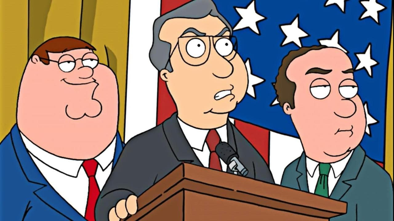 Family Guy Season 3 :Episode 3  Mr. Griffin Goes to Washington