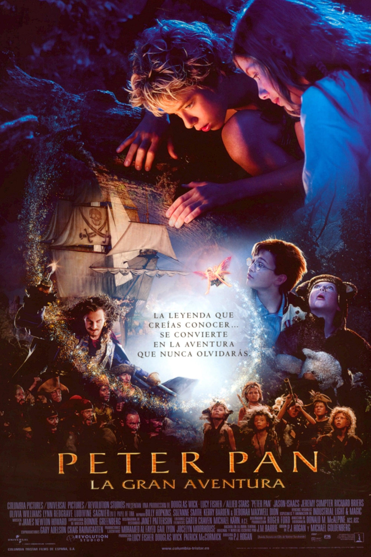 Póster Peter Pan, la gran aventura