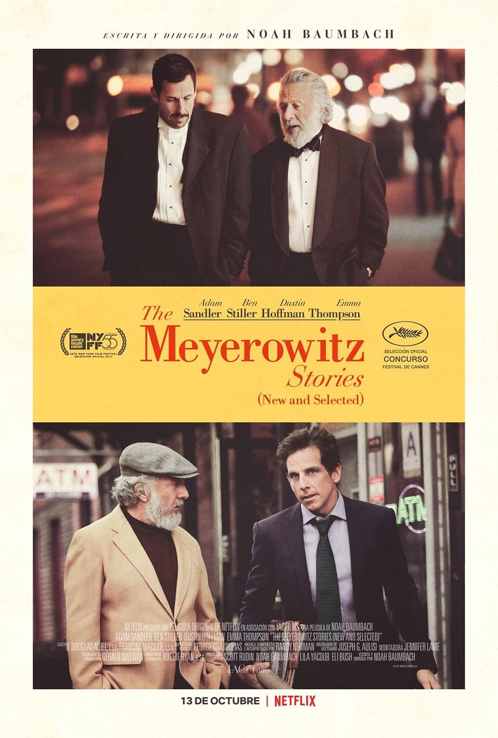 Póster The Meyerowitz Stories