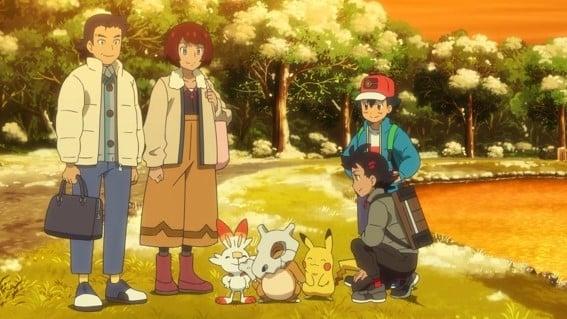 Pokémon Season 23 :Episode 15  A Snow Day for Searching!