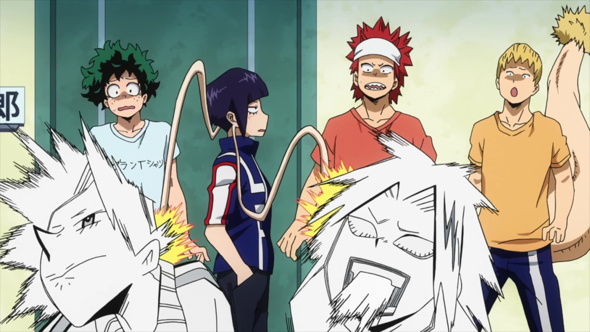 My Hero Academia Season 3 :Episode 13  Moving into Dorms