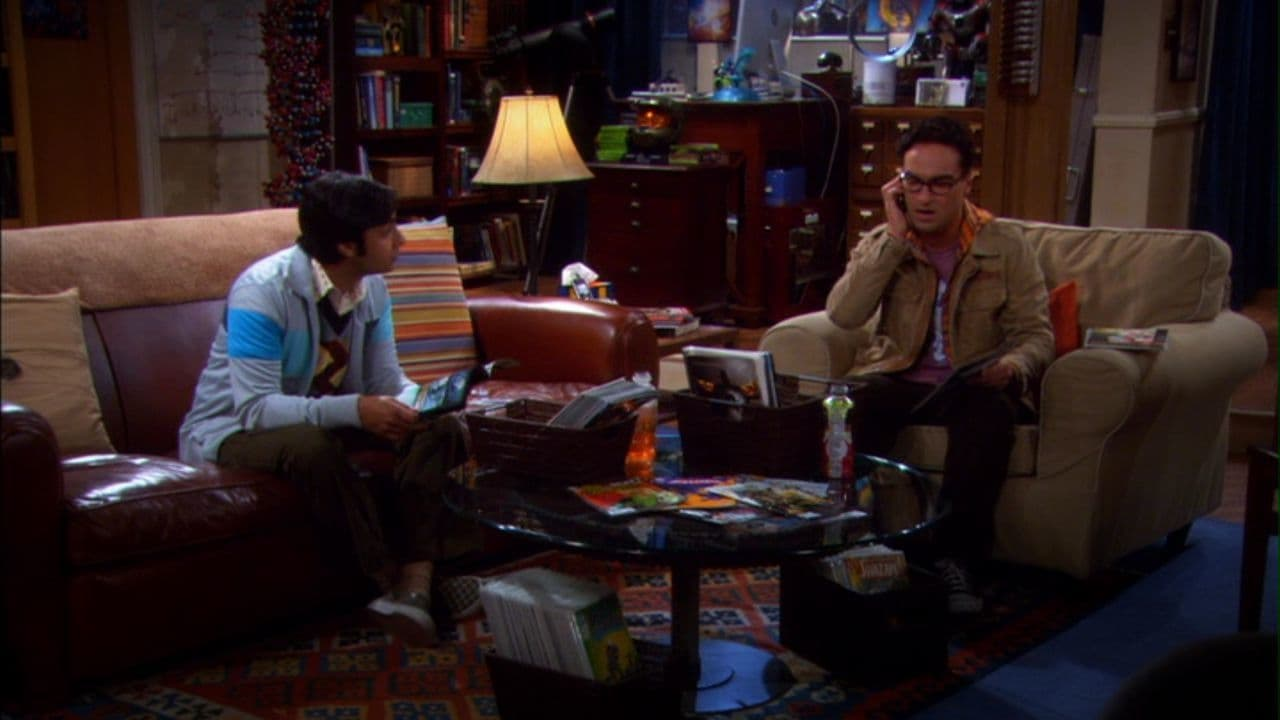The Big Bang Theory Season 4 :Episode 1  The Robotic Manipulation