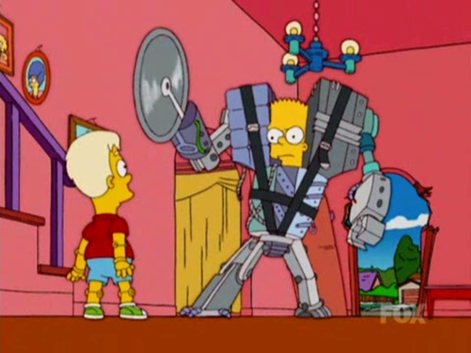 The Simpsons Season 17 :Episode 4  Treehouse of Horror XVI