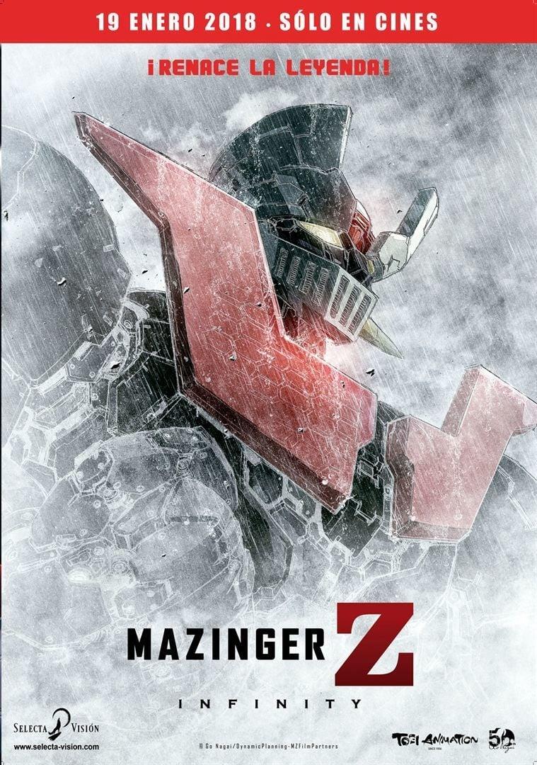 Póster Mazinger Z: Infinity