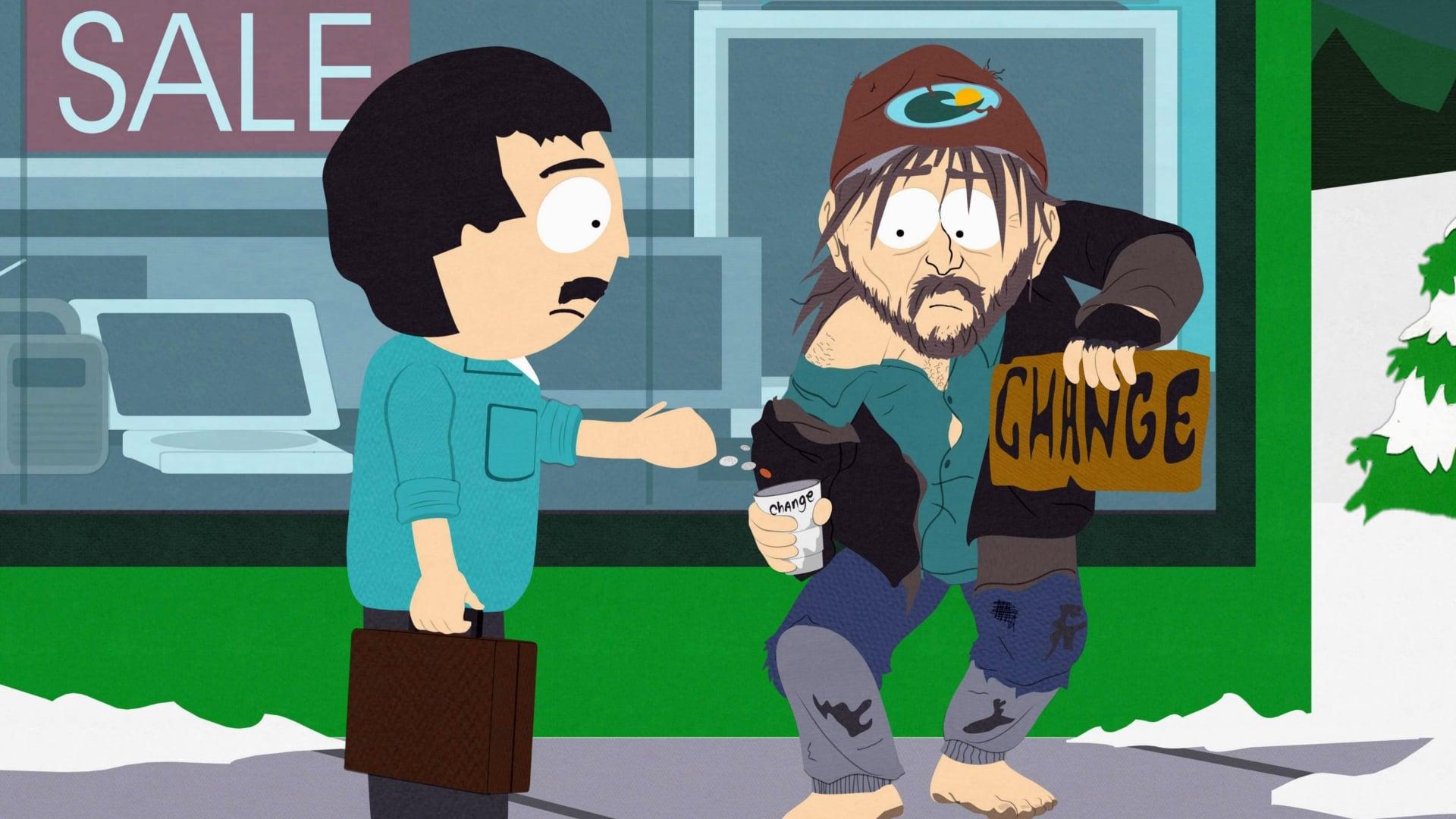South Park Season 11 :Episode 7  Night of the Living Homeless