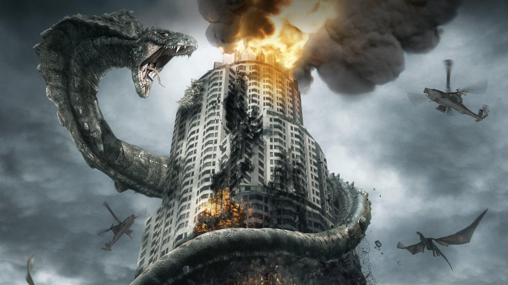 Dragon Wars (2007) Hindi Dubbed