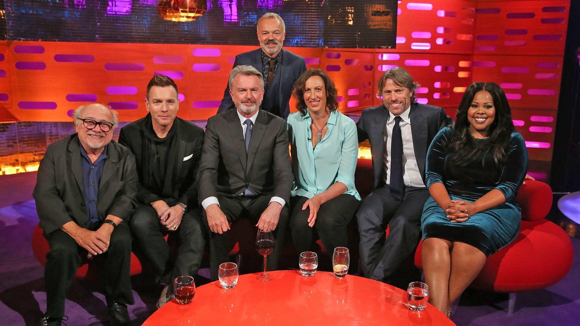 The Graham Norton Show Season 20 :Episode 2  Ewan McGregor, Danny DeVito, Miranda Hart, Sam Neill, John Bishop, Amber Riley