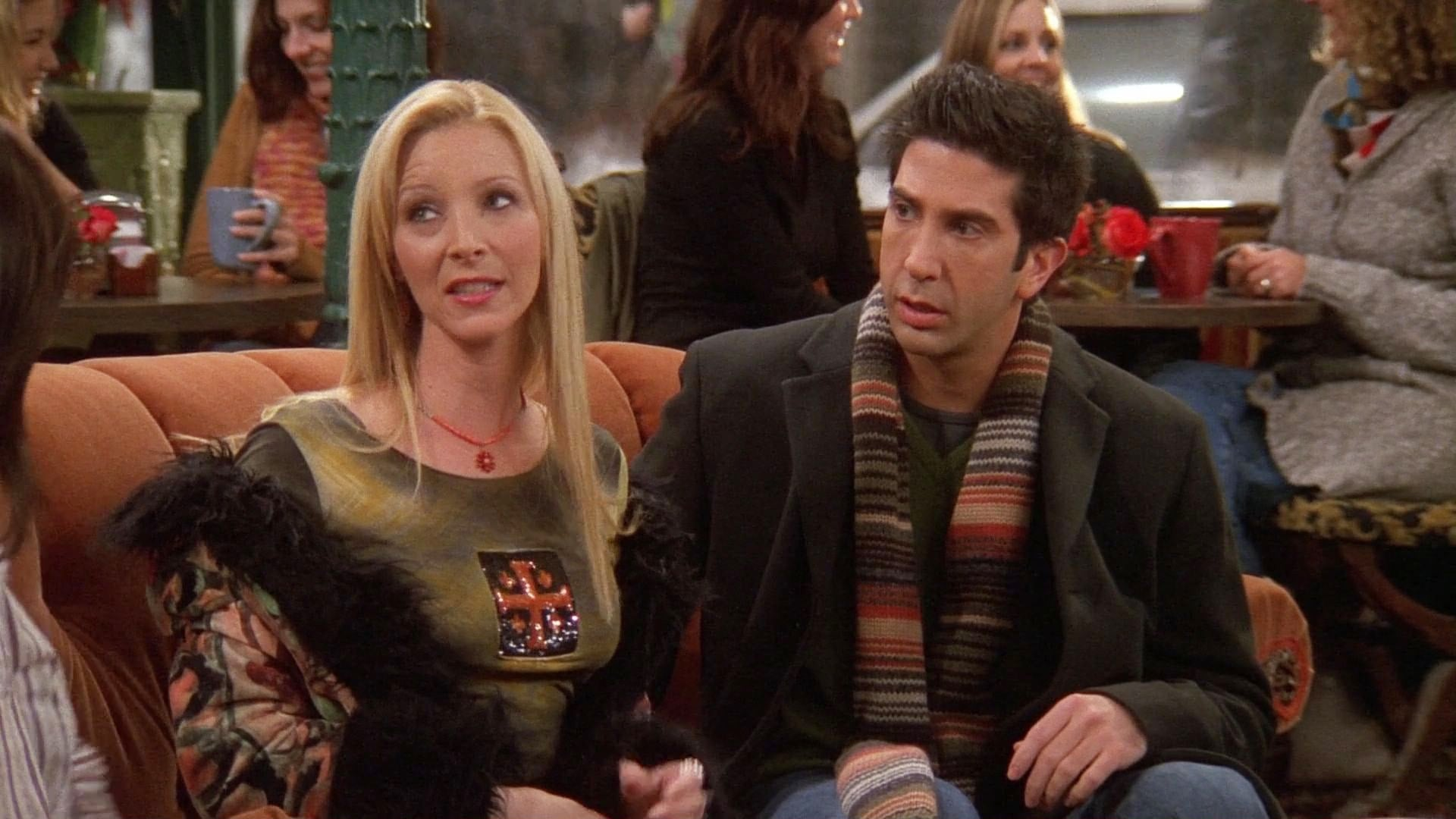 Friends Season 9 :Episode 15  The One with the Mugging