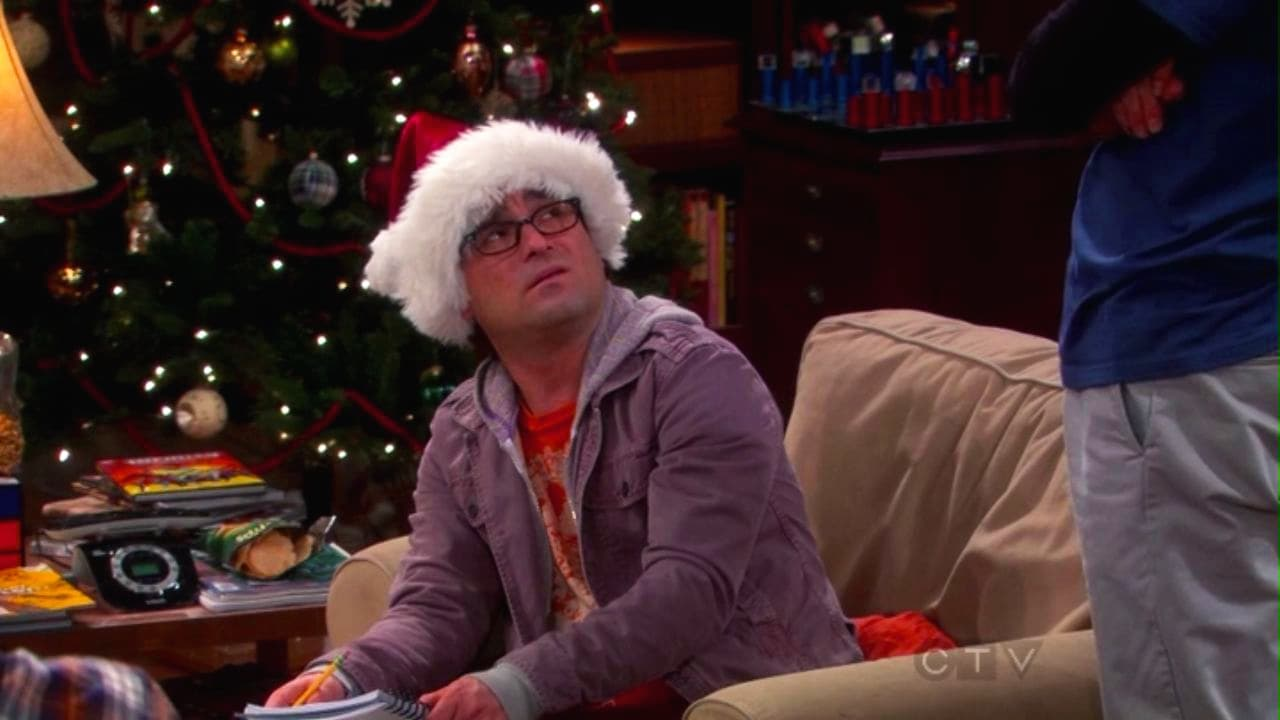 The Big Bang Theory Season 6 :Episode 11  The Santa Simulation