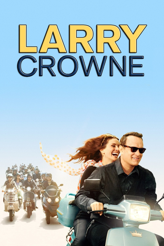 Póster Larry Crowne, nunca es tarde