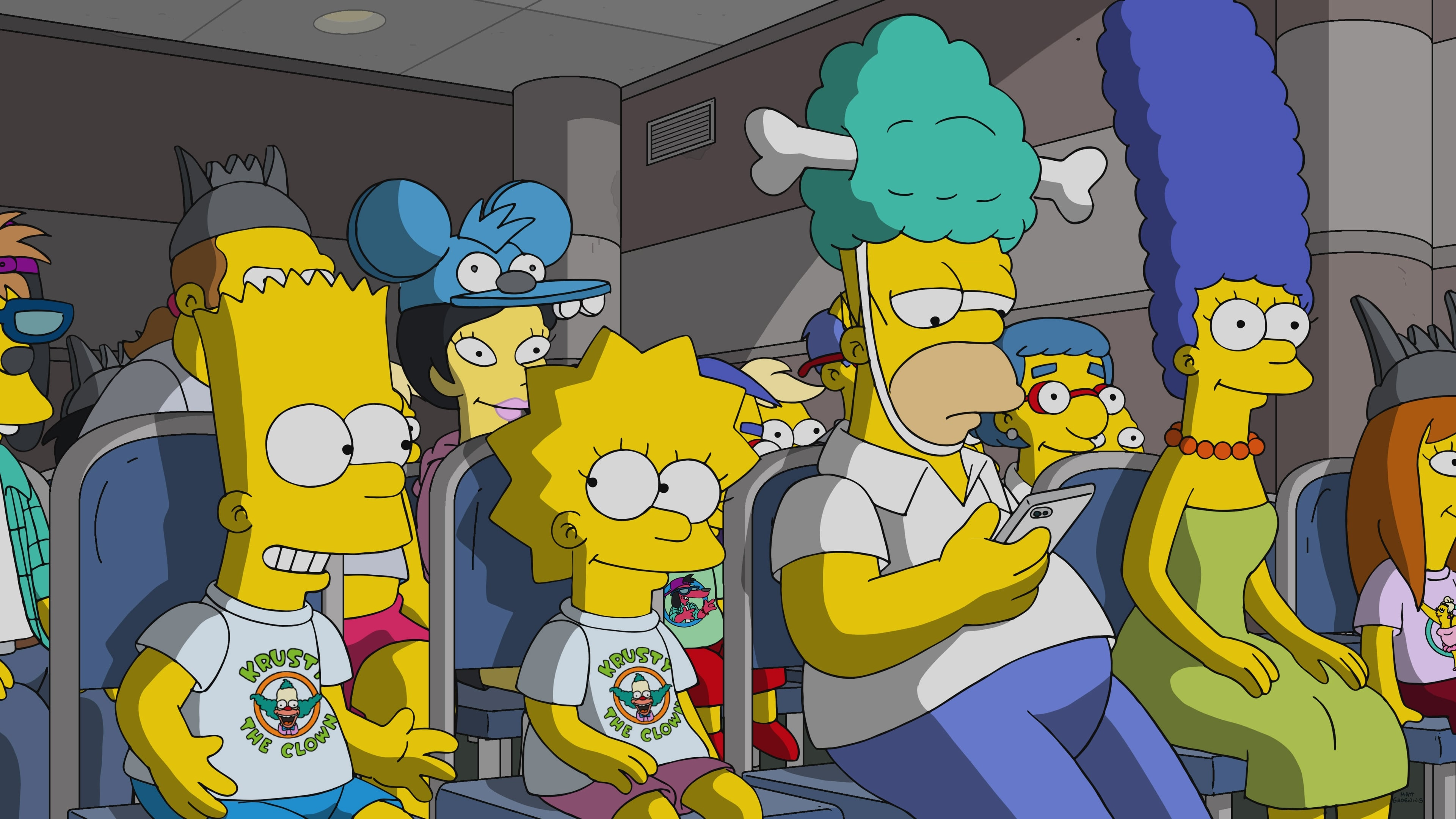 The Simpsons Season 30 :Episode 18  Bart vs Itchy & Scratchy