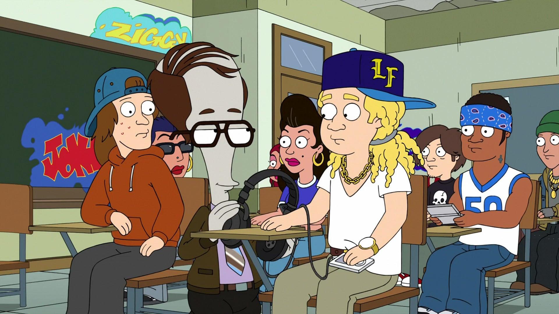American Dad! Season 13 :Episode 8  Stan-Dan Deliver