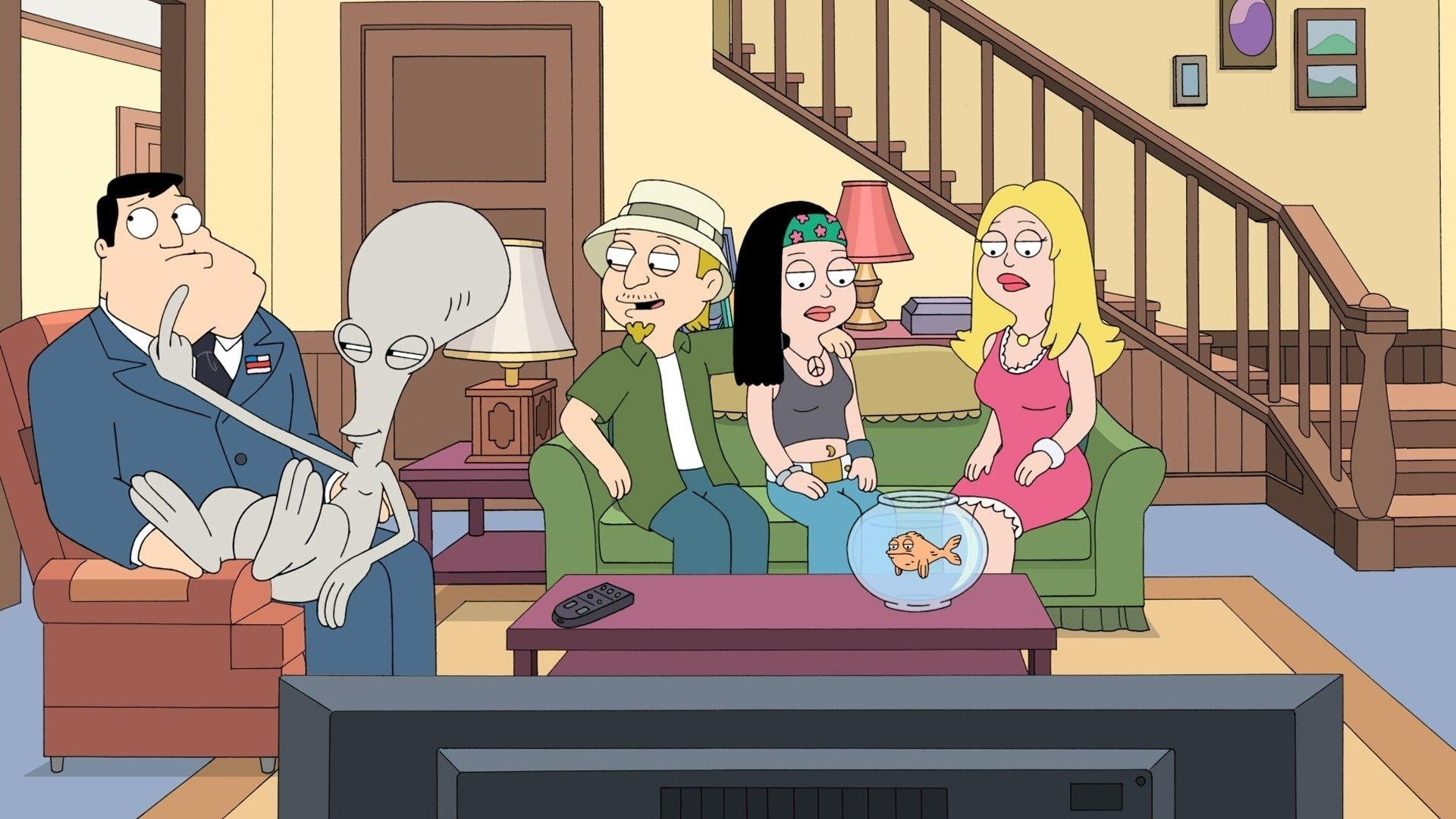 American Dad! - Season 9 Episode 12 : Naked to the Limit, One More Time