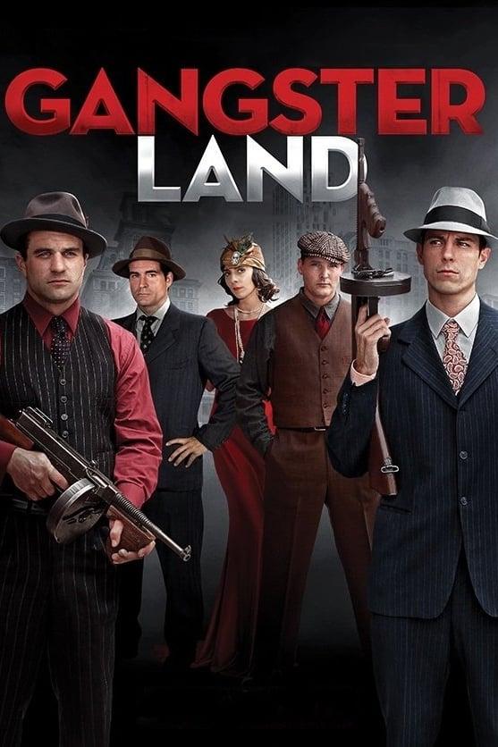 Póster Gangster Land