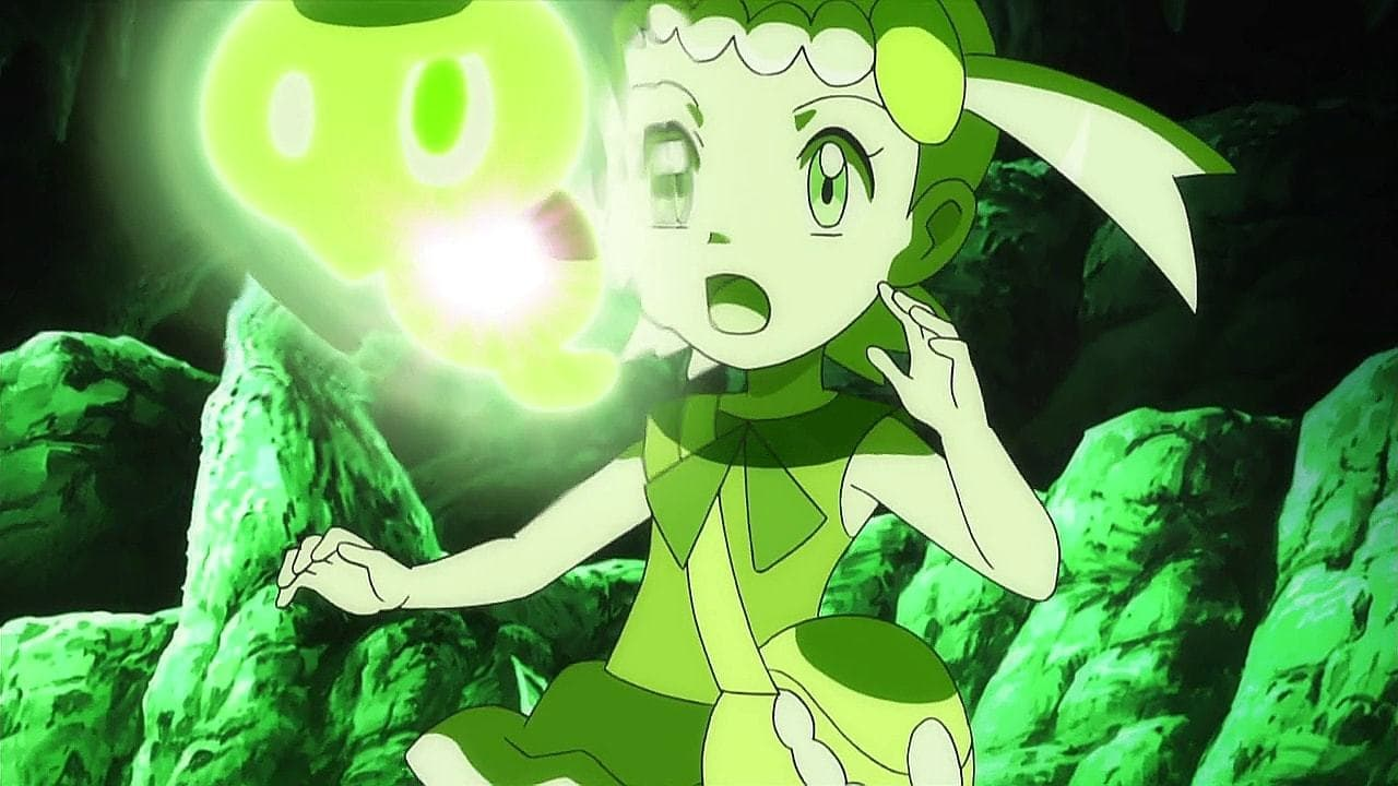 Pokémon Season 19 :Episode 9  Meeting at Terminus Cave!