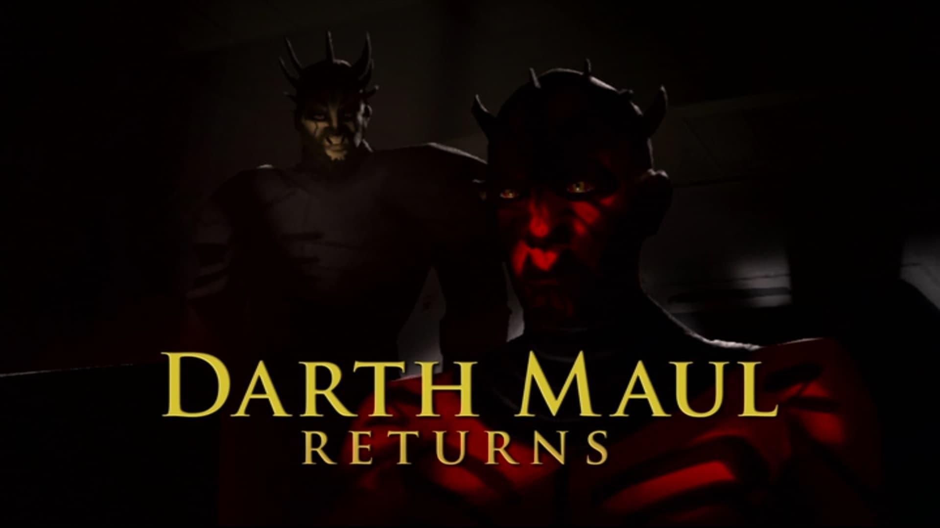 Star Wars: The Clone Wars - Season 0 Episode 117 : Darth Maul Returns