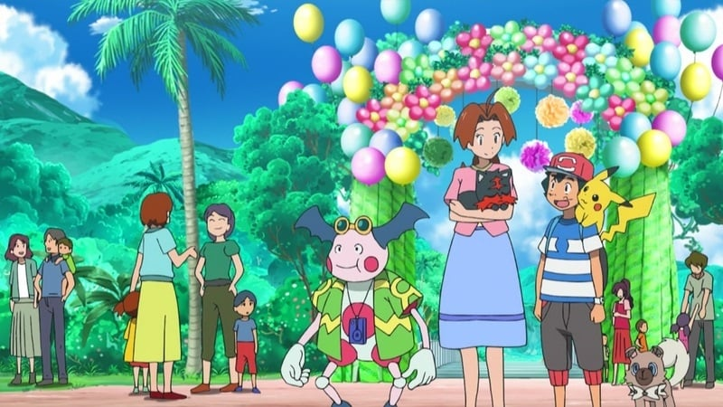 Pokémon Season 20 :Episode 24  Alolan Open House!