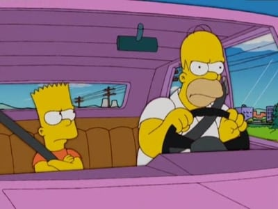 The Simpsons - Season 17 Episode 11 : We're on the Road to D'ohwhere