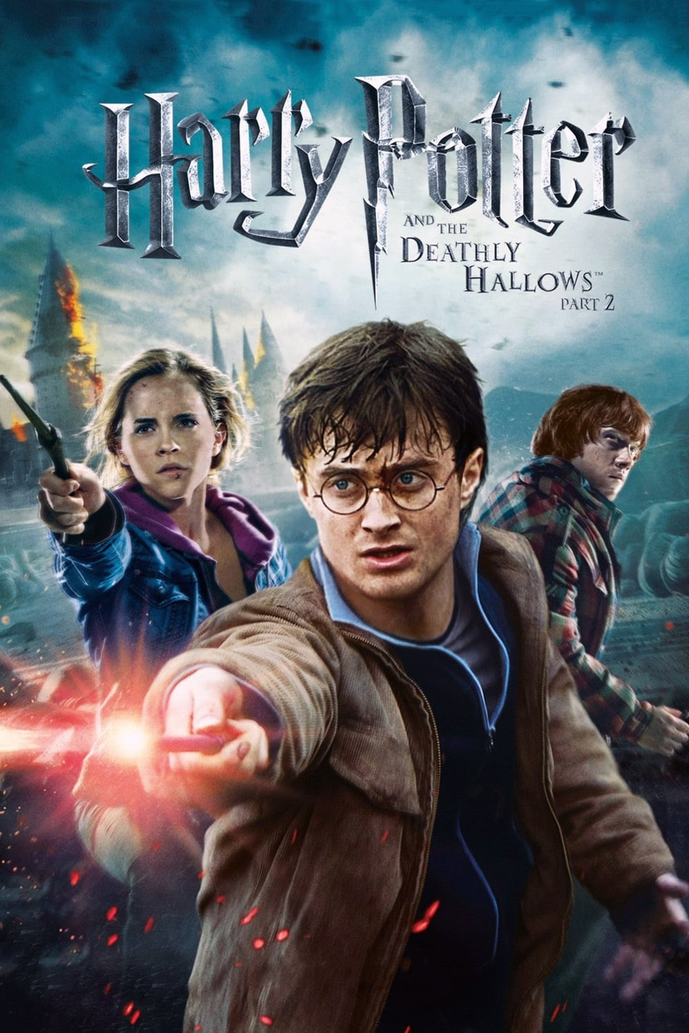 Harry Potter Deathly Hallows Part 2 DVD