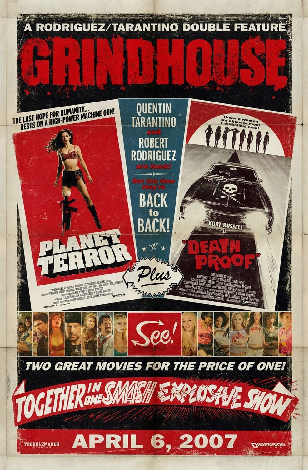 grindhouse tradition made to play like a midnight movie in the horrors of war Horrors of war - 2006 horrors of war derives from the b movie, grindhouse tradition, made to play like a like a midnight movie it is an independently-produced film made in a b-movie style, yet with a dramatic.