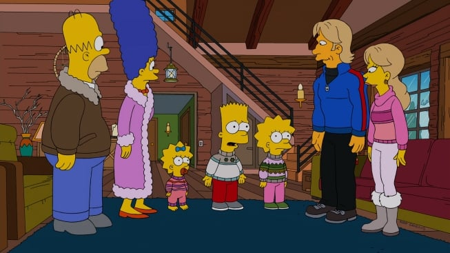 The Simpsons Season 24 :Episode 11  The Changing of the Guardian