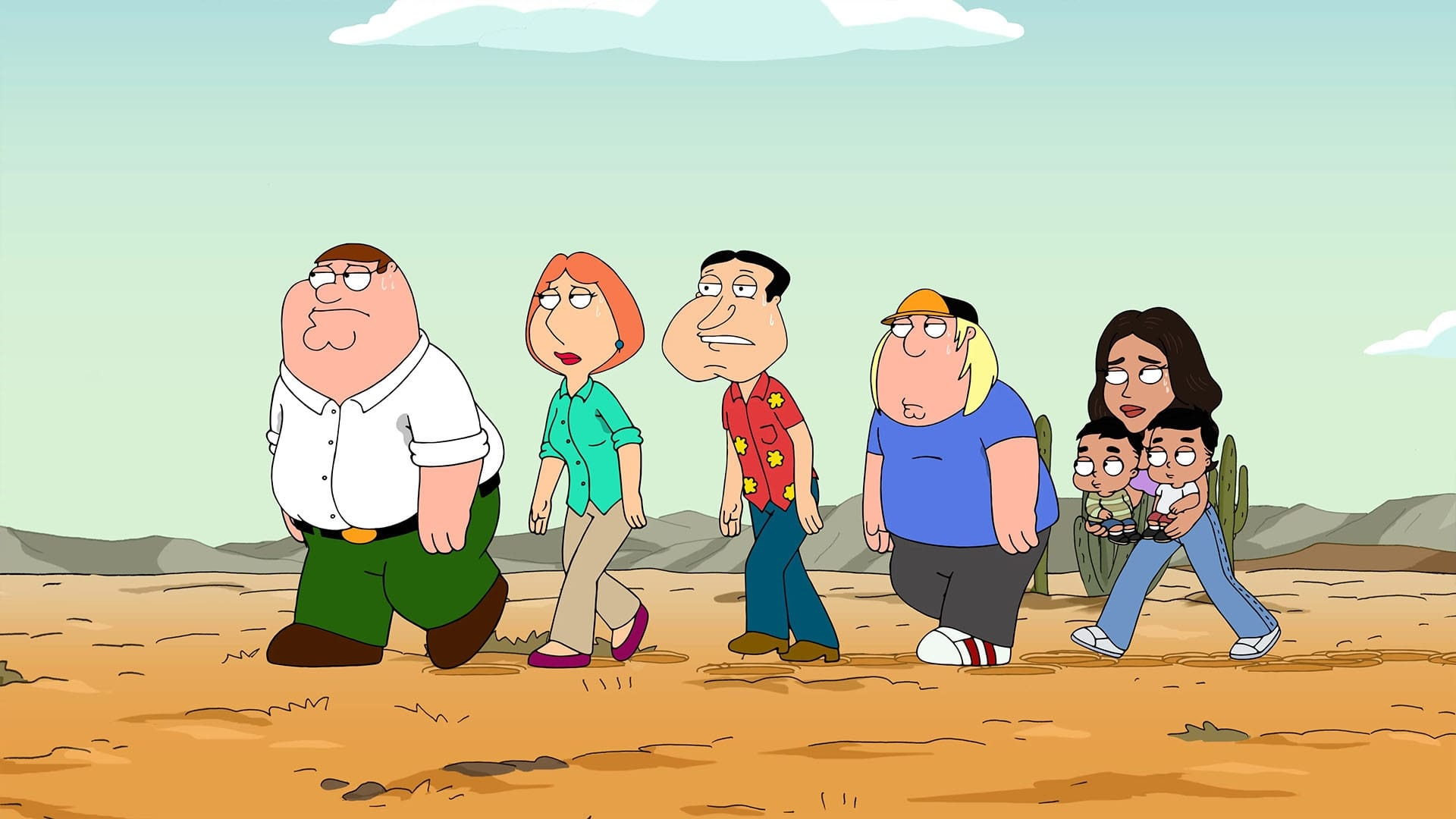 Family Guy Season 15 :Episode 19  Dearly Deported