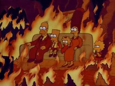 The Simpsons - Season 2 Episode 13 : Homer vs. Lisa and the 8th Commandment