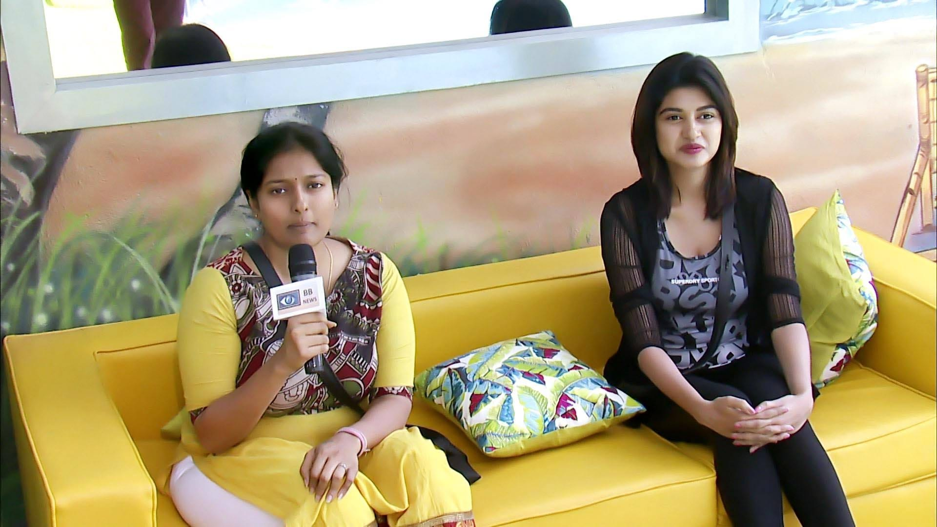 Bigg Boss Season 1 :Episode 32  Day 31: Oviya, Gayathri Become Reporters