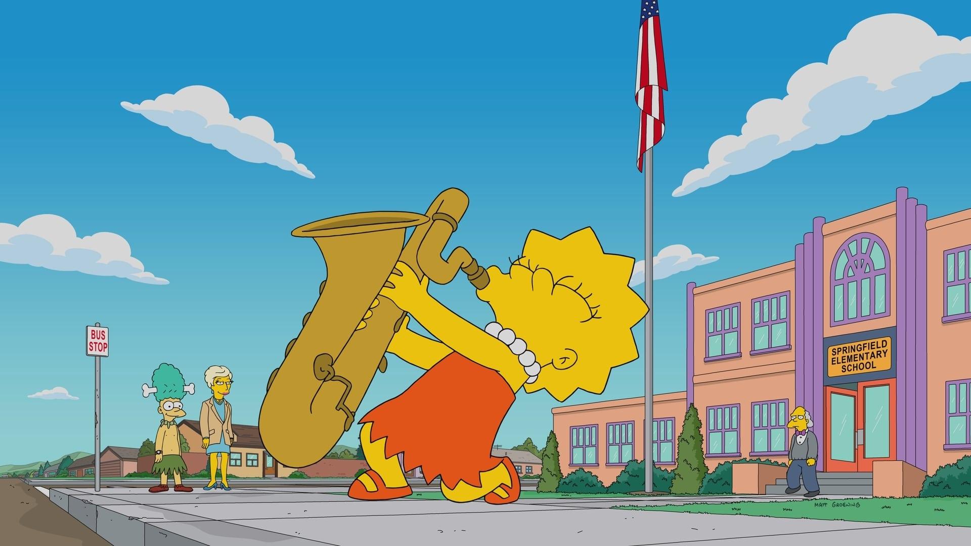 The Simpsons Season 29 :Episode 17  Lisa Gets the Blues