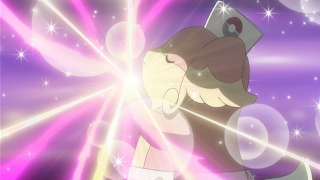 Pokémon Season 19 :Episode 3  A Giga Battle With Mega Results!