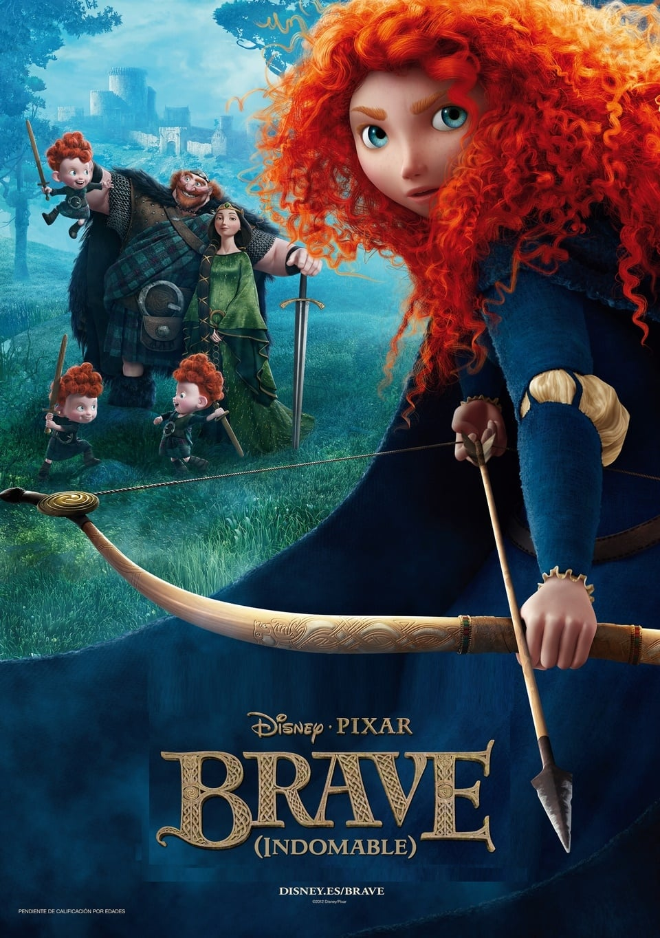 Póster Brave (Indomable)