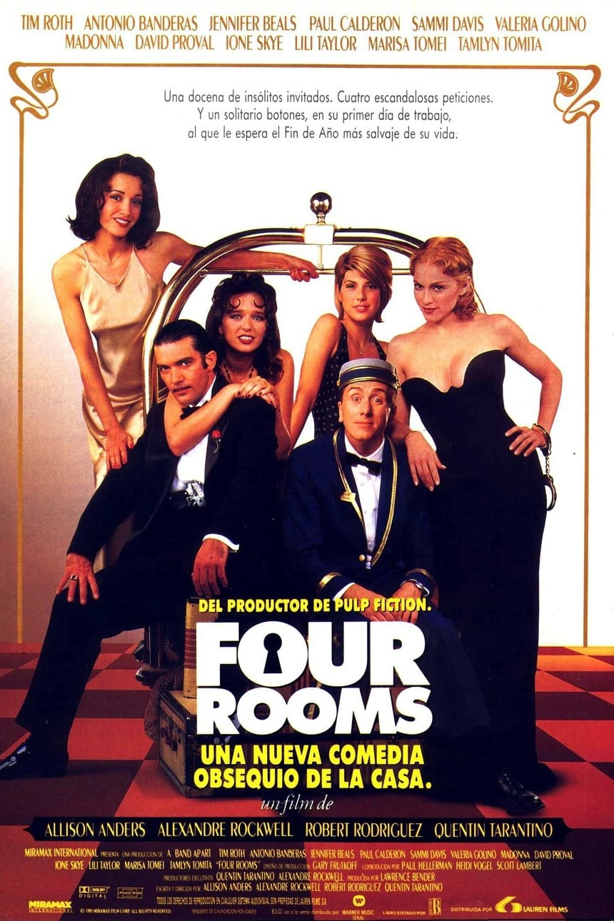 Póster Four Rooms