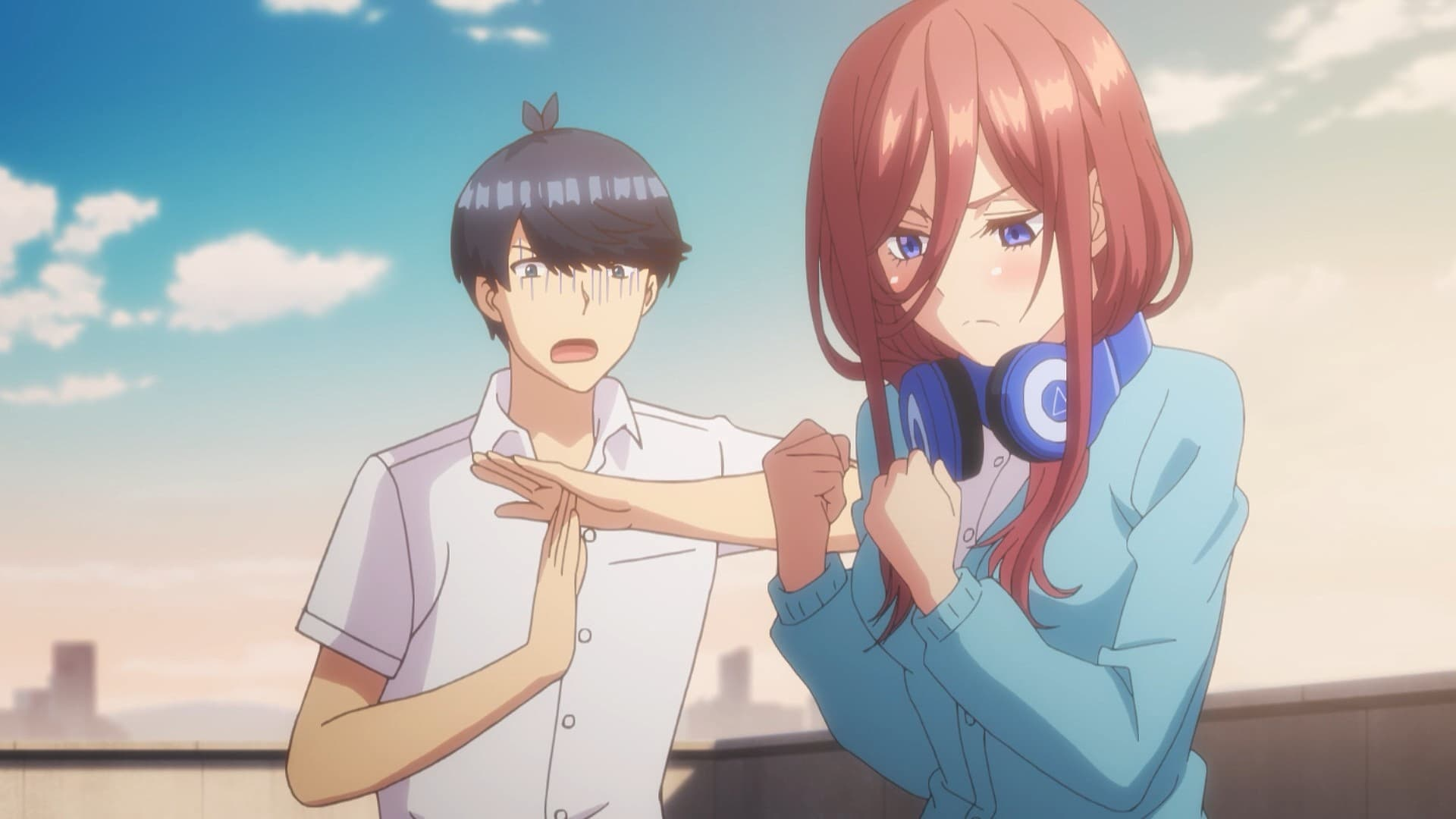 The Quintessential Quintuplets Season 1 :Episode 2  Rooftop Confession