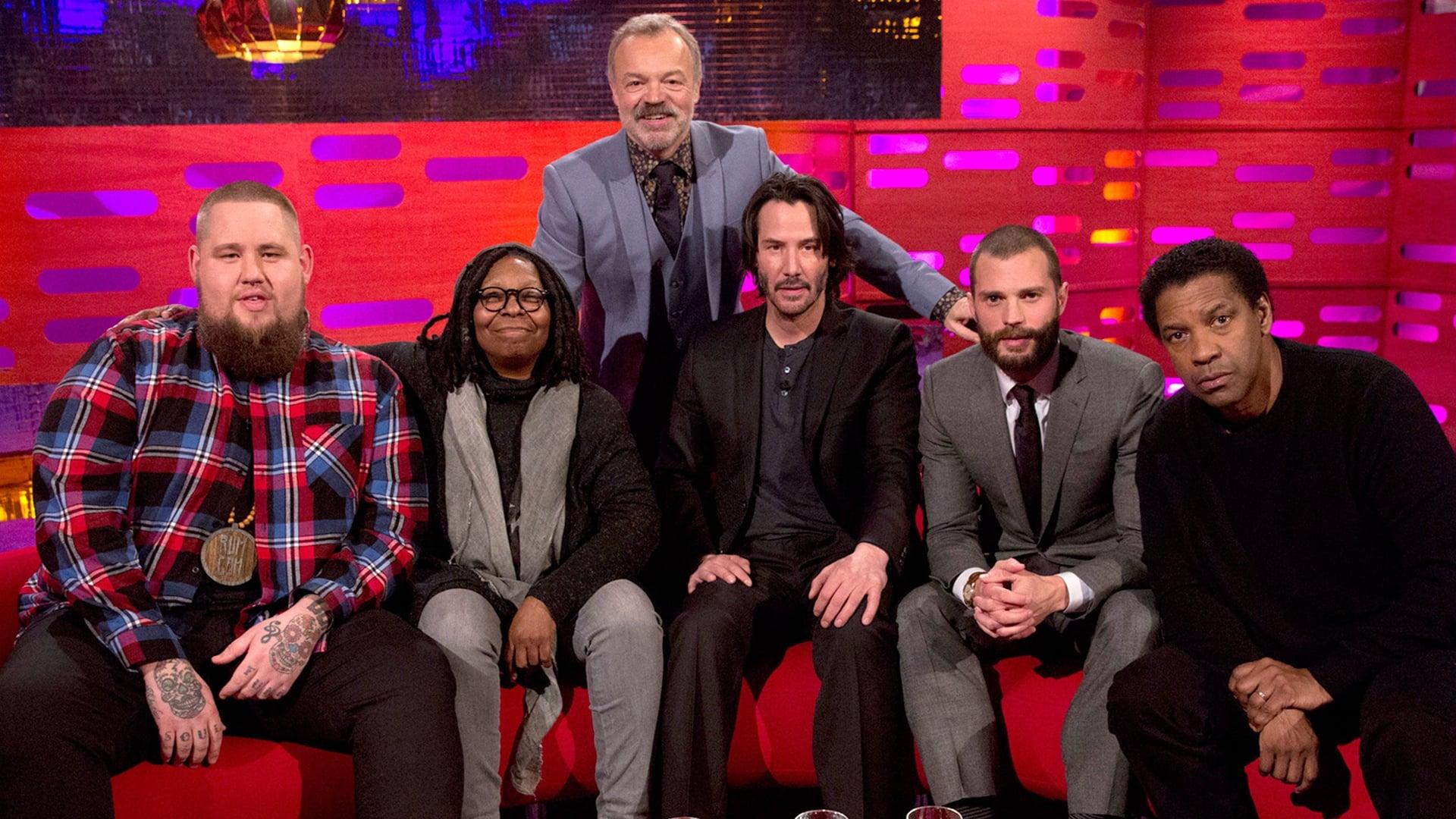 The Graham Norton Show Season 20 :Episode 17  Denzel Washington, Jamie Dornan, Keanu Reeves, Whoopi Goldberg, Rag'n'Bone Man