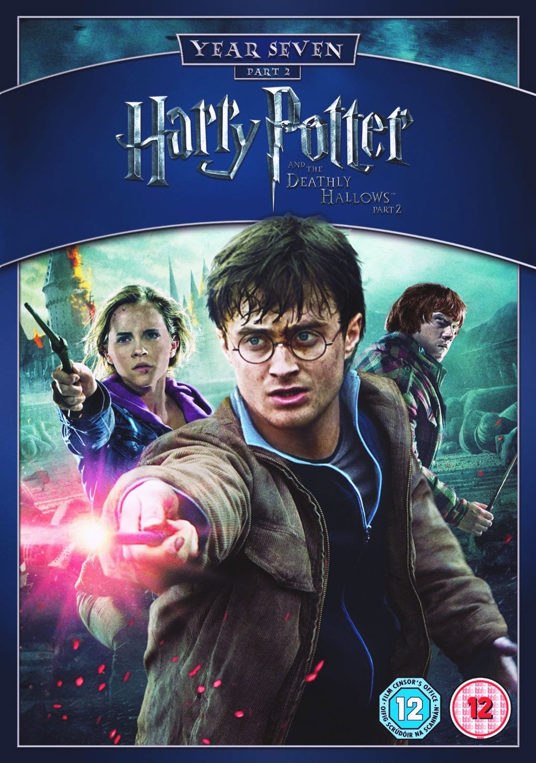 Harry Potter and the Deathly Hallows Part 2 DVD Cover