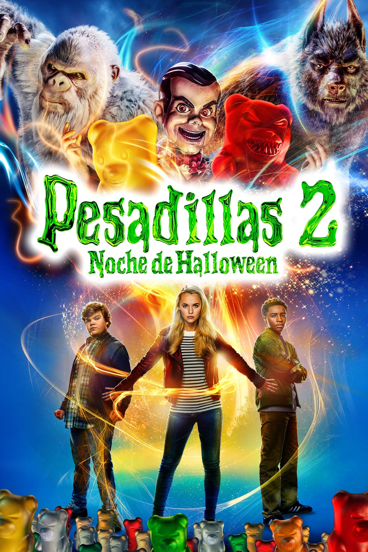 Póster Pesadillas 2: Noche de Halloween