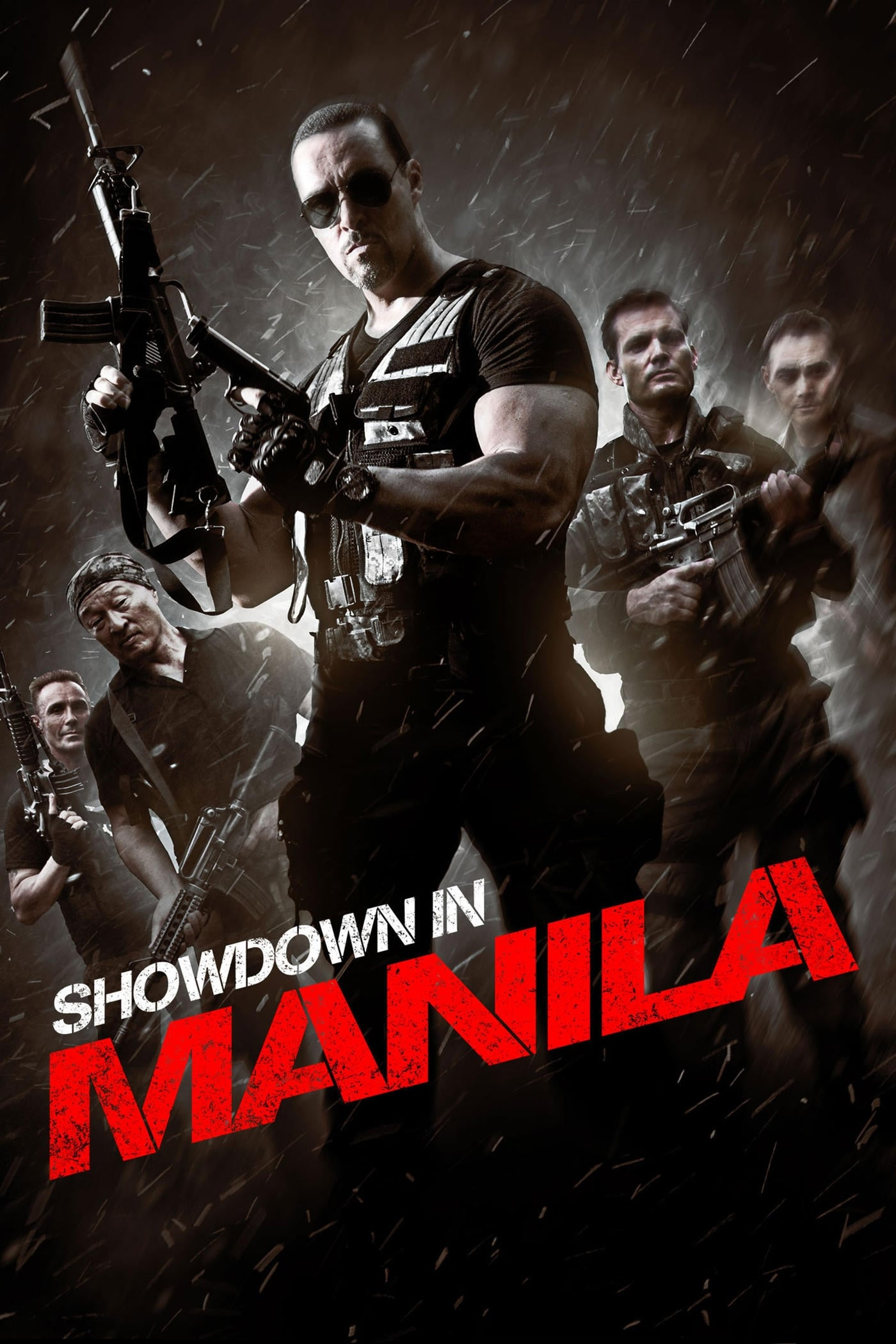 Póster Showdown In Manila