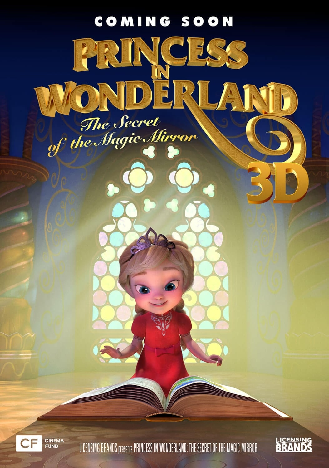 image for Princess in Wonderland: The Secret Of The Magic Mirrorr