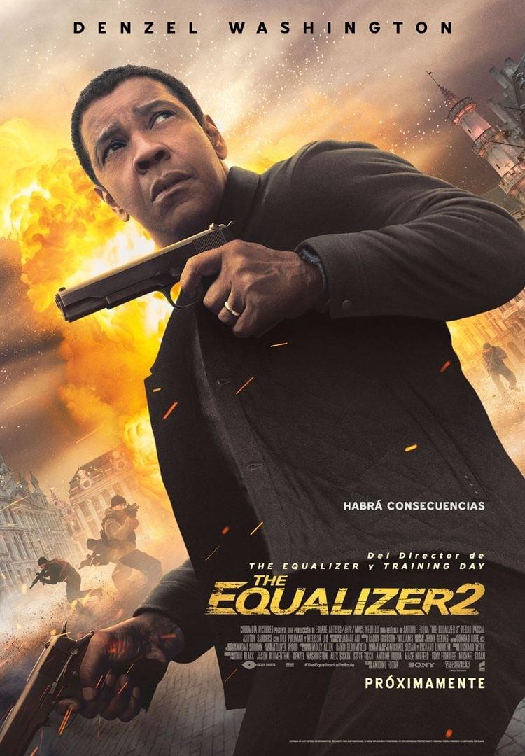 Póster El Justiciero / El Equalizador 2