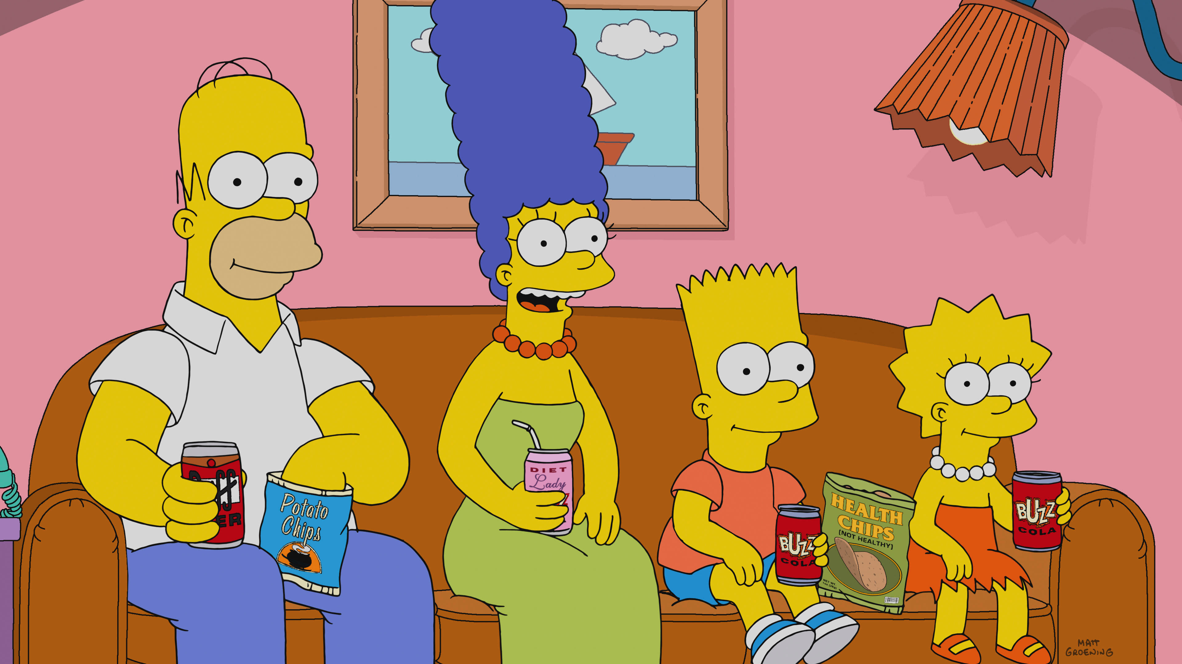 The Simpsons Season 30 :Episode 2  Heartbreak Hotel