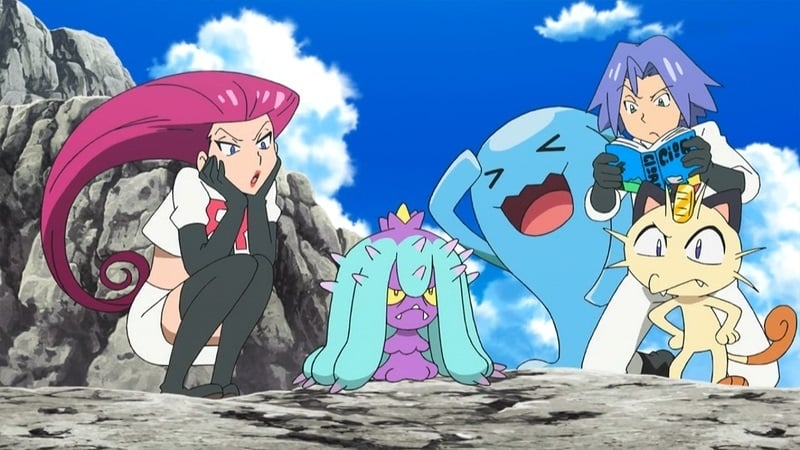 Pokémon Season 20 :Episode 12  The Sun, the Scare, the Secret Lair!